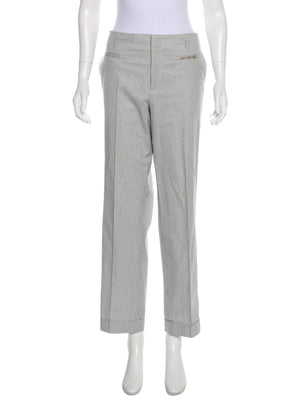 Gucci Mid-Rise Pinstripe Pant