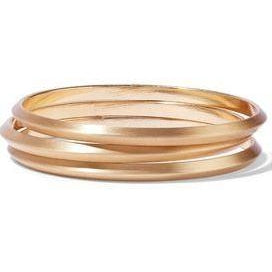 Kenneth Jay Lane Gold-Tone Bangles