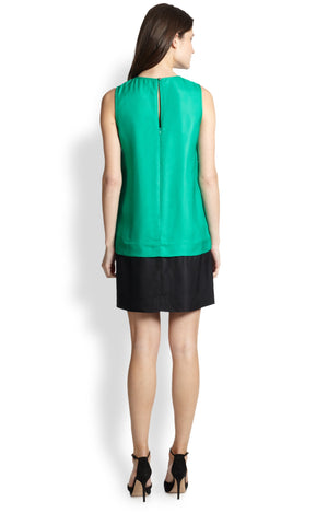Kate Spade New York 'Rosita' Jeweled Colorblock Dress