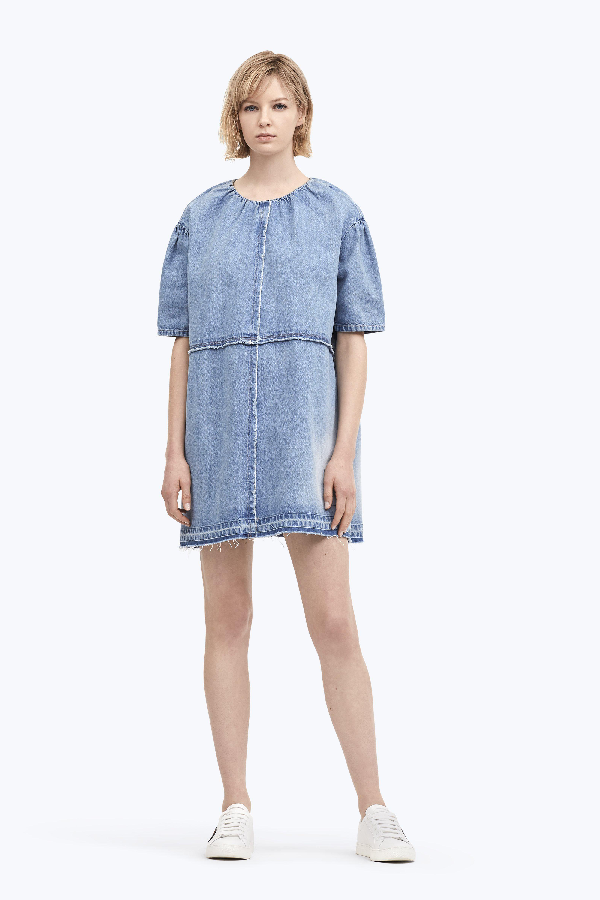 Marc Jacobs Indigo Soft Denim Dress