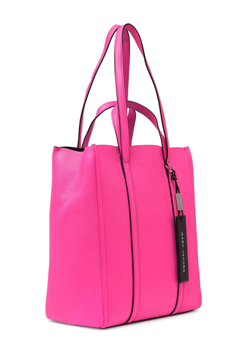 Marc Jacobs 'The Tag 31' Bright Pink Leather Tote