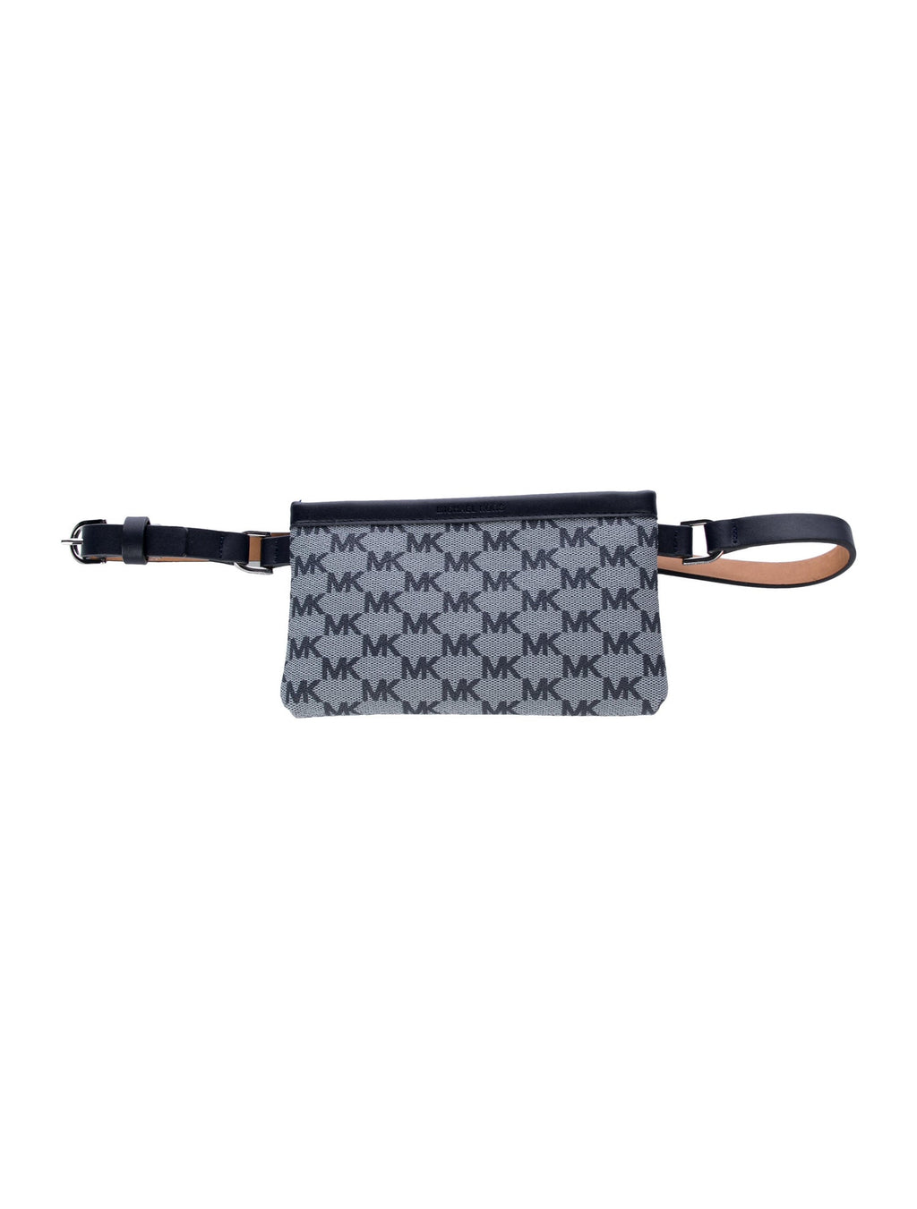 Michael Michael Kors Monogram Leather-Trimmed Waist Bag