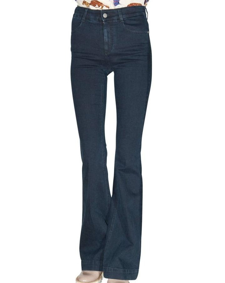 Stella McCartney Dark Wash Flared Jeans
