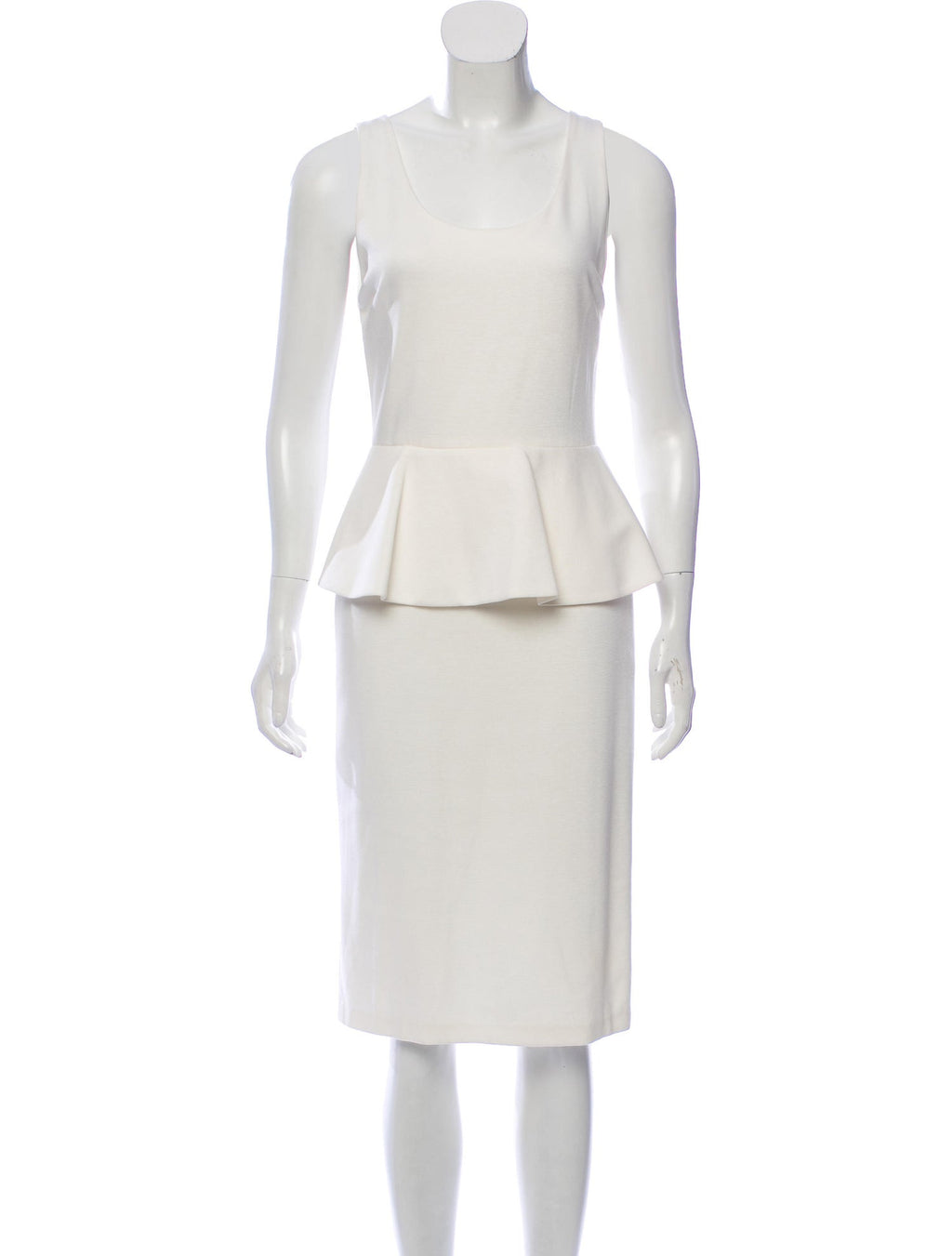Alice and Olivia 'Isaac' Peplum Dress