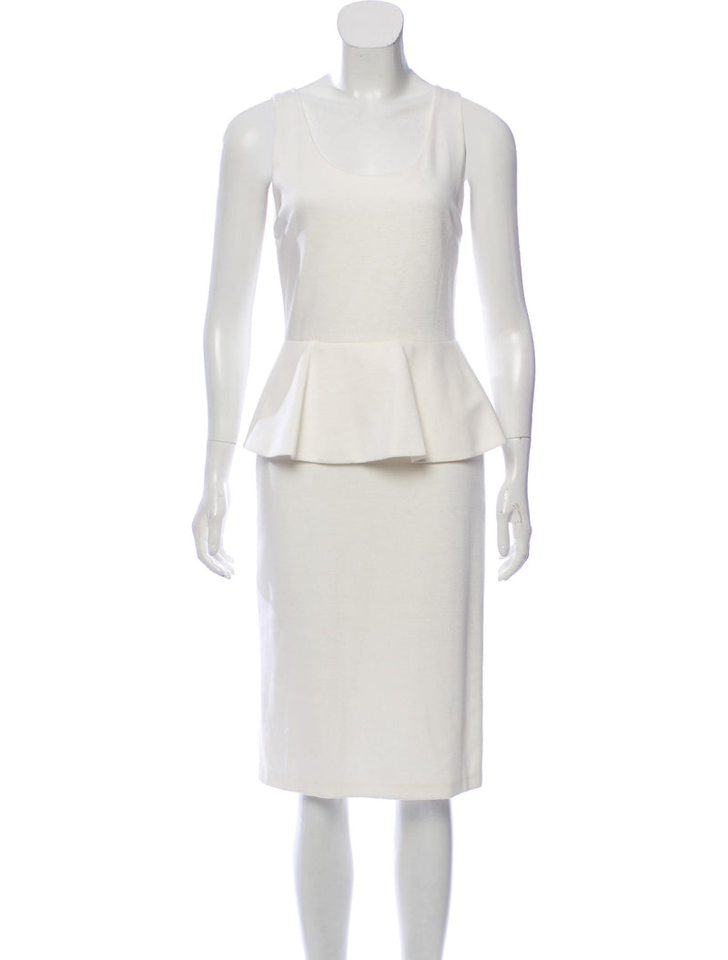 Alice + Olivia 'Isaac' Peplum Dress