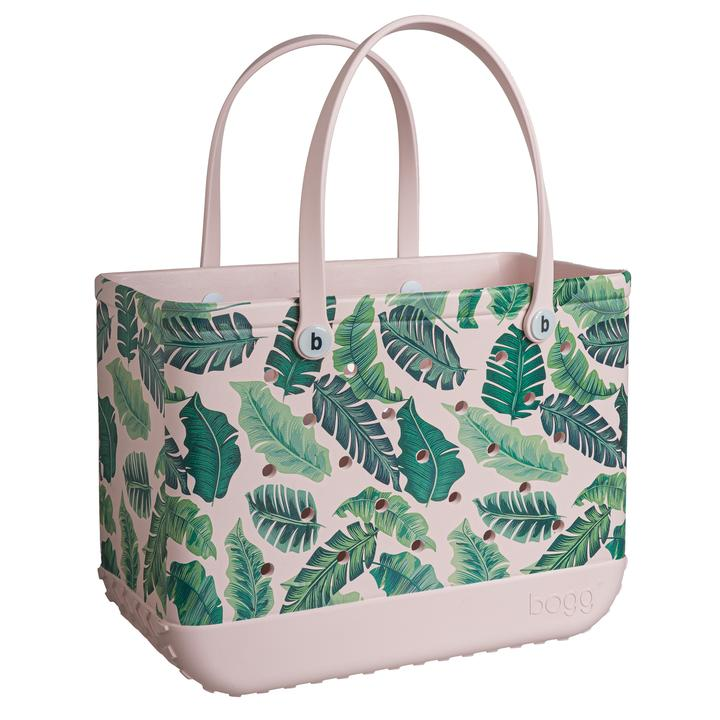 Bogg Bag Limited Edition 'Pink Palm' Large Tote
