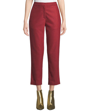Rag & Bone Poppy Wool Cropped Trouser