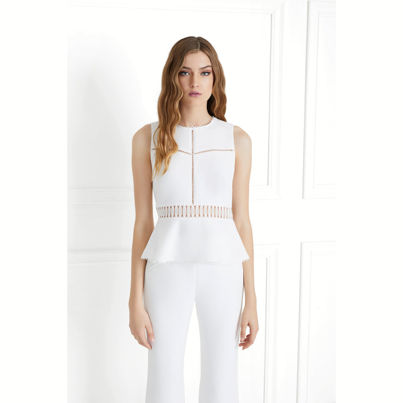 Rachel Zoe 'Julia' Peplum Top