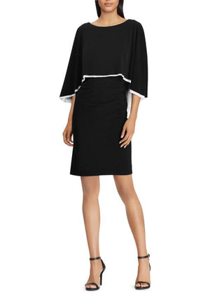 Lauren Ralph Lauren Jersey Cap Dress