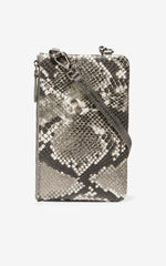 Cole Haan Snake-print Cell Phone Essentials Crossbody