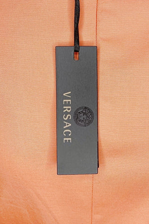 Versace Pencil Skirt with Zipper Embellishment