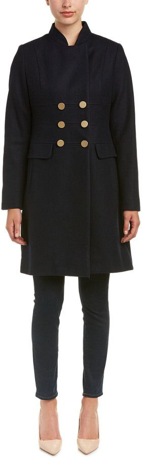T Tahari 'Hazel' Military Coat