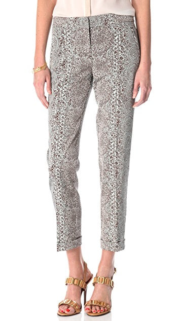 Tory Burch 'Bilson' Printed Pants