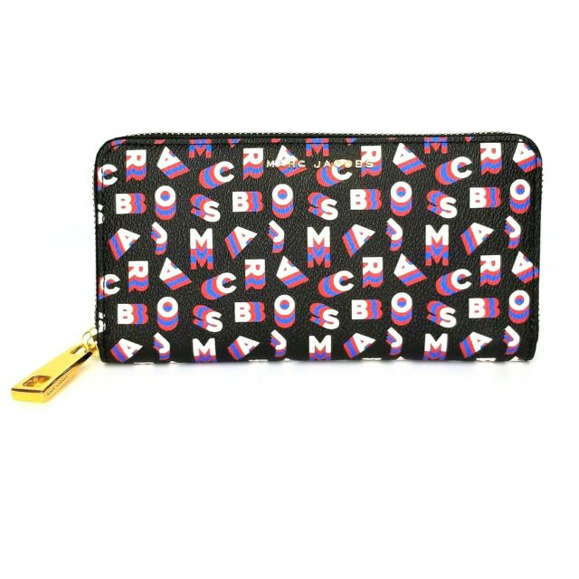 Marc Jacobs Scrambled Logo Continental Wallet