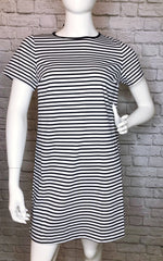 Draper James Nautical Stripe Ponte Shift Dress