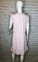 Draper James Floral Sleeveless Popover Dress