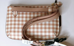 Ralph Lauren 'Gingham' Pouch Belt Bag