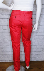 Marc by Marc Jacobs Bright Coral High-Rise Trousers