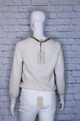 Burberry London Cashmere-Wool Blend Sweater
