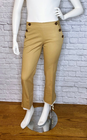 Valentino Roma Vintage Camel Trousers