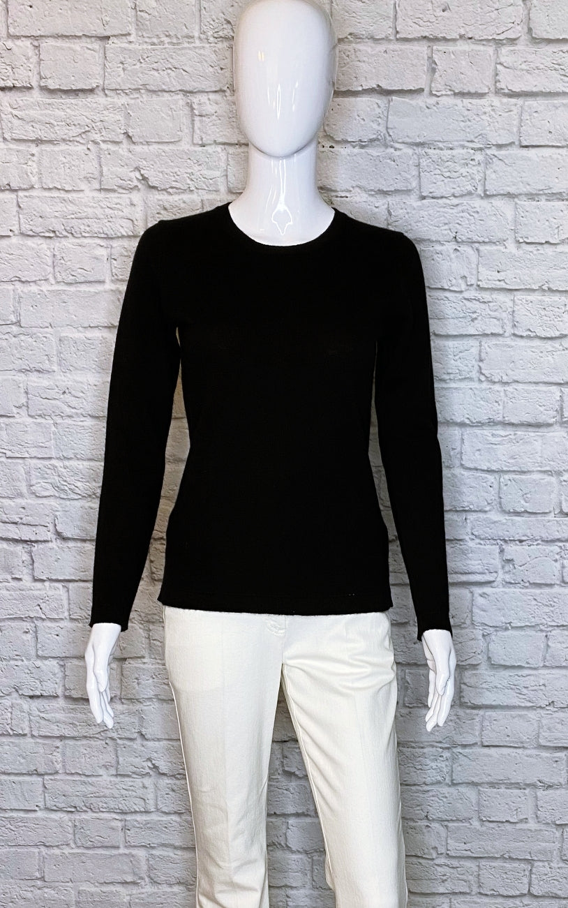 Hannah Rose Scoop Neck Cashmere Sweater