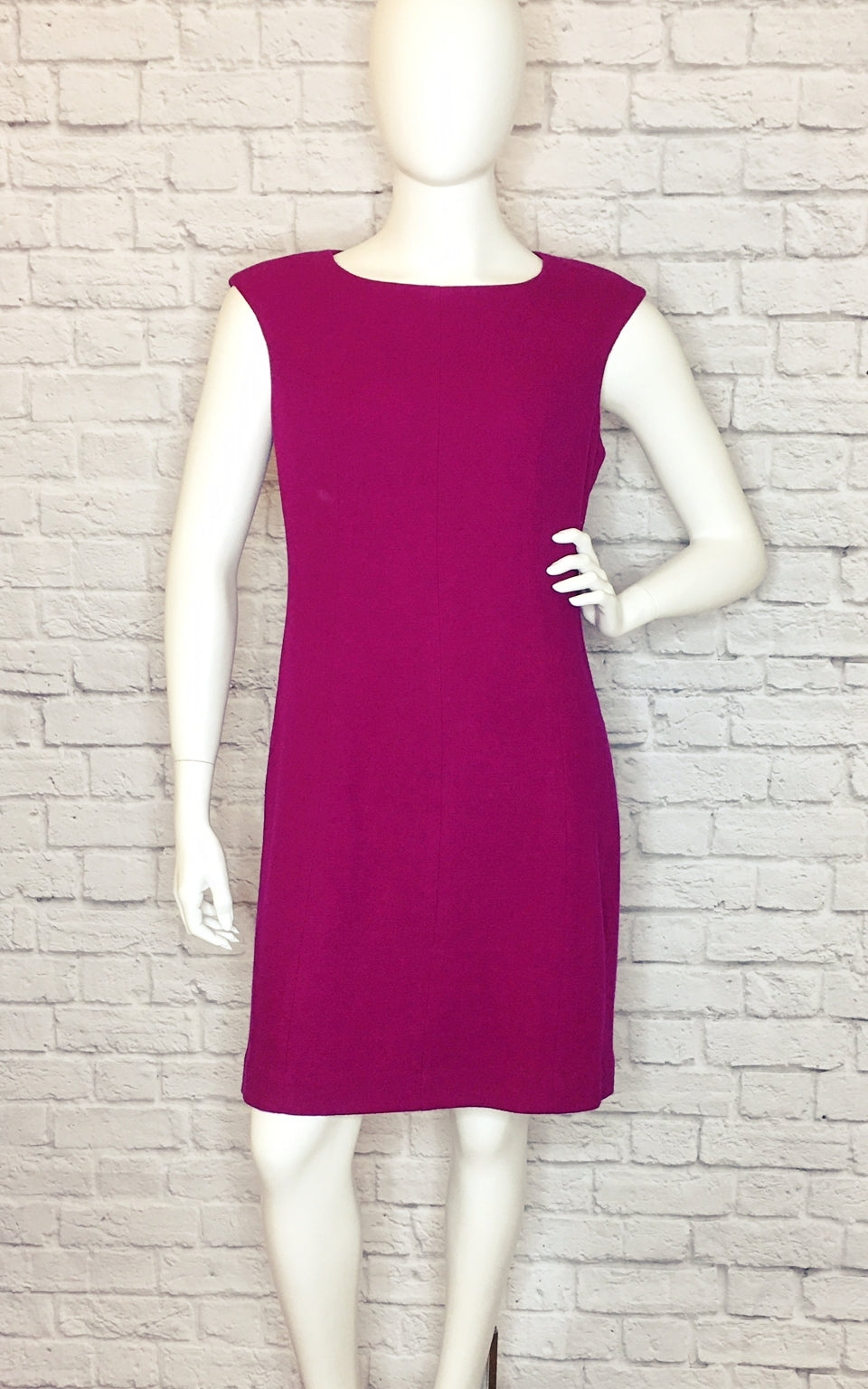 Kate Spade New York Crepe Cap-Sleeve Berry Blitz Mainline Sheath Dress