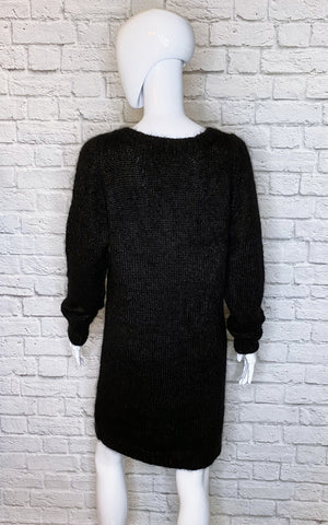 Vanessa Bruno Athe Mohair Shift Sweater Dress