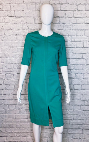 Diane von Furstenberg Bright Emerald 'Saturn' Sheath Dress