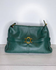Jimmy Choo Vintage 'Tulita' Leather Shoulder Bag