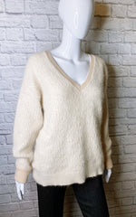 Chloe Mohair Angora/Merino Wool Blend Sweater
