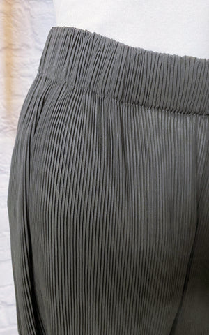 Zimmerman Black Pleated Wide Leg Pants
