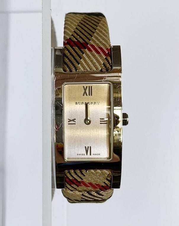 Burberry Vintage Swiss Square Nova Check Watch