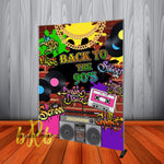 90's Graffiti Hip Hop Backdrop - Step & Repeat - Designed, Printed & Shipped!