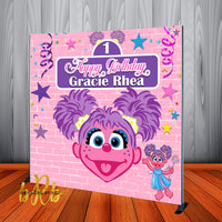 Abby Cadabby Birthday Party  Backdrop Personalized Step & Repeat - Designed, Printed & Shipped!