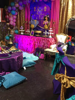 Aladdin Princess Jasmine - Arabian Theme Backdrop for Birthday Party Printed & Shipped!