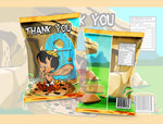 Bamm Bamm - Flintstones Chip Bag - Digital File