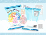 Care Bears Blue Chip Bag - Digital File