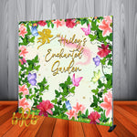 Enchanted Garden Fairy Princess Party Backdrop - Designed, Printed & Shipped!