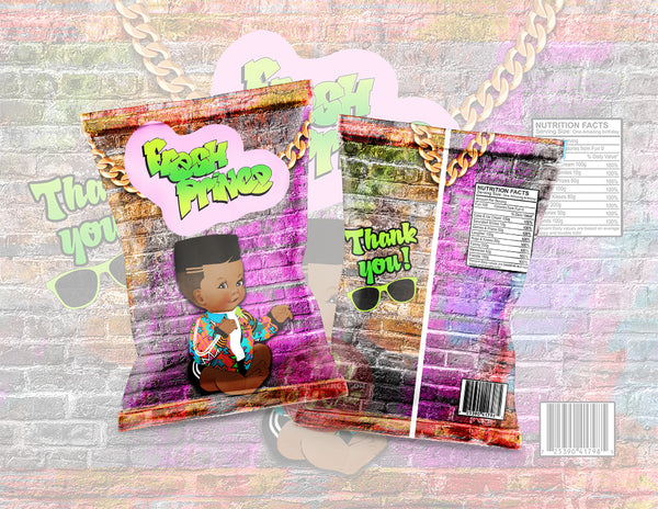 The Fresh Prince Chip Bag - Digital File