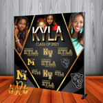 Graduation Photo Collage Backdrop Personalized - Step & Repeat - Designed, Printed & Shipped!