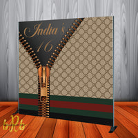 Gucci inspired Backdrop - Step & Repeat - Designed, Printed & Shipped!