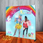 JoJo Swia Photo Backdrop for Birthday Party or any event. Designed, Printed & Shipped!