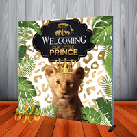 Lion King Safari Backdrop for Baby Shower - Birthday Party Personalized - Printed & Shipped!