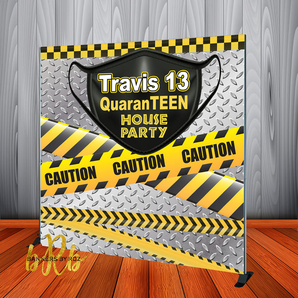 QuaranTEEN House Party Backdrop - Printed & Shipped!