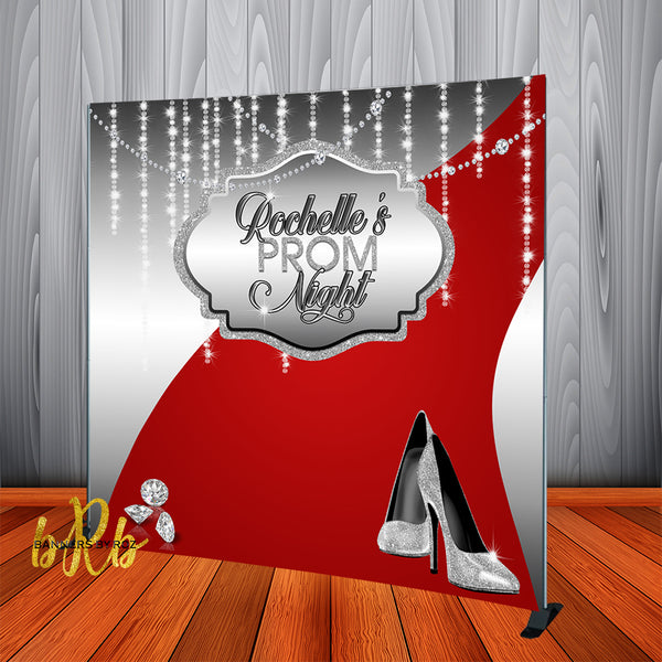 Prom Red Carpet backdrop - Step & Repeat - Designed, Printed & Shipped!