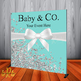 Tiffany & Co. Inspired Backdrop - Step & Repeat - Designed, Printed & Shipped!