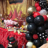Circus theme party Backdrop Personalized Step & Repeat - Designed, Printed & Shipped!