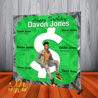 Cash App Backdrop Personalized Step & Repeat - Designed, Printed & Shipped!