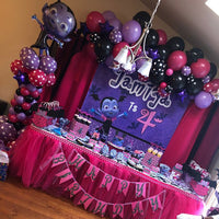 Vampirina Birthday Party  Backdrop Personalized Step & Repeat - Designed, Printed & Shipped!