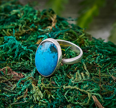 Turquoise Ocean Stone Ring – Floridian Ocean Jewelry